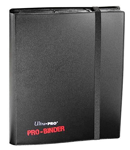 Ultra Pro 82600 - Pro-Binder Sammelalbum, 9 Taschen pro Seite, für 360 Karten, schwarz