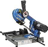Fervi 0500 - Sierra de cinta electrónica de banco para hierro, motor con escobillas