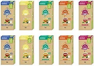 La Natura Lifestyle Tee Selection Box, 100 industriell kompostierbare Teekapseln, Nespresso kompatibel, 10 x 10er Pack