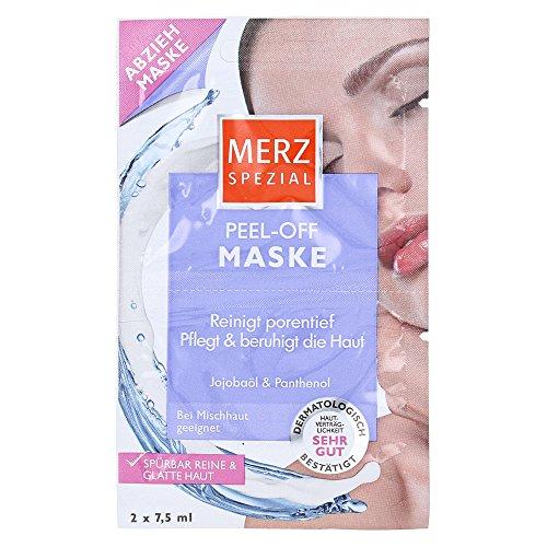 Merz Spezial Peel-Off Maske Jojobaöl und Panthenol er Pack( x 15 milliliters)