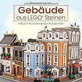 Gebäude aus LEGO   Steinen  Häuser  Ladenzeilen