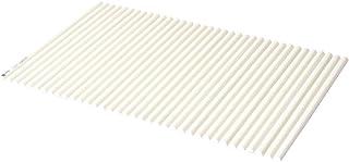 コーナン オリジナル LIFELEX(ライフレックス)シャッター式風呂フタ L-12 ラウンド型 幅75×長さ120cm