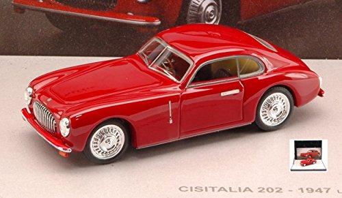 Miniminiera MMPF005 CISITALIA 202 PININFARINA 1947 Red 1:43 MODELLINO Die Cast Compatible con