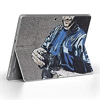 igsticker Surface Go/Surface Go 2 専用スキンシール サーフェス go シール スキン 保護 フィルム ステッカー アクセサリー 001529 ラブリー 写真・風景 壁画 カメラ