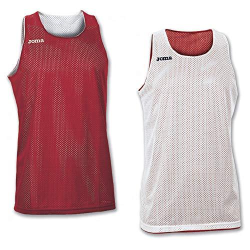 Joma 100050.600 - Camiseta de baloncesto para hombre, color rojo, talla M