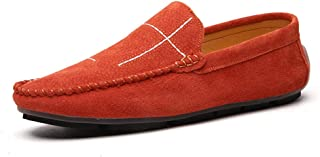 Mocassins Cuir Suedé Homme Chaussure British Style Business Casual Driving Shoes Chaussures de Marche Slip-on Slippers