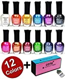 Best Nail Polish Sets - Kleancolor Nail Polish Awesome Metallic Full Size Lacquer Review