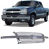 Compatible with Chevy Silverado grill 2003 2004 2005 2006