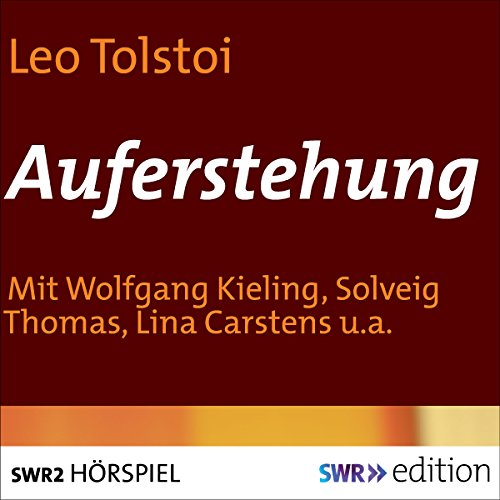 Auferstehung audiobook cover art