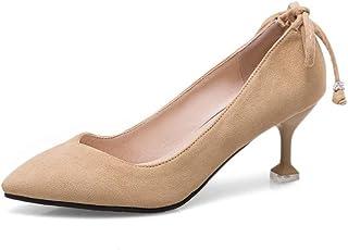 BalaMasa Womens APL11983 Pu Stiletto Heels