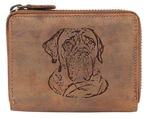 Greenburry Damengeldbörse mit Hunde-Motiv Deutsche Dogge