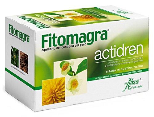 Aboca FITOMAGRA ACTIDREN Tisana Drenante 100% Bio Tarassaco Herbal Tea 20filtri