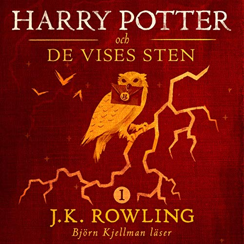 Harry Potter och De Vises Sten     Harry Potter-serien 1              By:                                                                                                                                 J.K. Rowling,                                                                                        Lena Fries-Gedin - translator                               Narrated by:                                                                                                                                 Björn Kjellman                      Length: 9 hrs and 40 mins     4 ratings     Overall 4.8