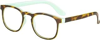 I Heart Eyewear Malibu Tortoiseshell Mint Accent Reading Glasses, 2.5