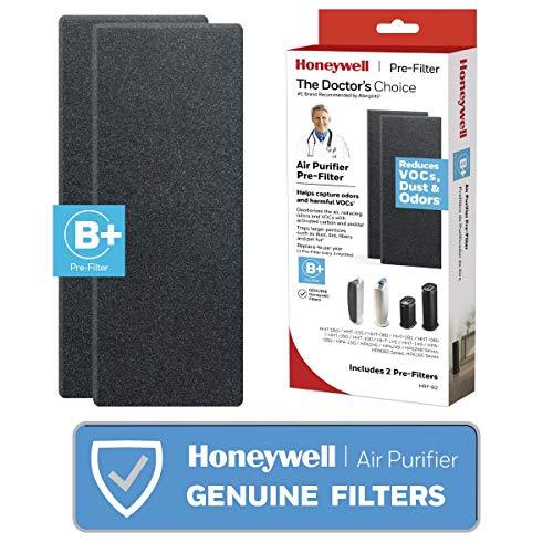 Honeywell HRF-B2 Filter B Household Odor & Gas Reducing Pre-filter, 2 Pack