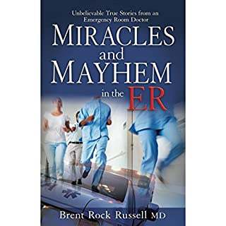 Miracles & Mayhem in the ER audiobook cover art