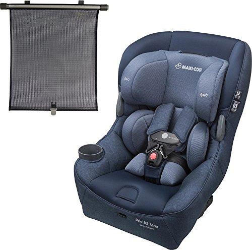 Best Price! Maxi-Cosi USA Pria 85 Max Convertible Car Seat - Nomad Blue with Bonus Retractable Windo...