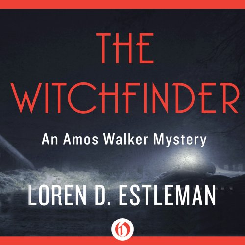 The Witchfinder audiobook cover art