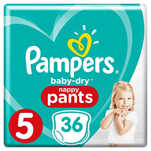 Pampers 81676077 - Baby-dry pants pantalones, unisex