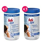 HTH Active Oxygen Spa Pack 1 x Active Oxygen Tablets 20 g + 1 x Chlorine-Free Shock