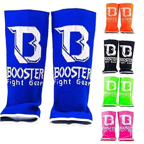 Booster Fussbandagen Pro - Fußgelenkbandagen Knöchelschoner Fußgelenkschutz Anklet für Muay Thai Boxen Kickboxen Kampfsport (Pink)