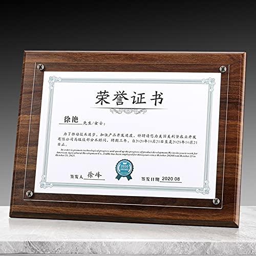 ABCSS Marco de exhibición de medallas,Expositor de medallas,Marco de Certificado de página Interior reemplazable,Marco de Certificado de graduación/Marco de Certificado de Honor/Marco de Fotos