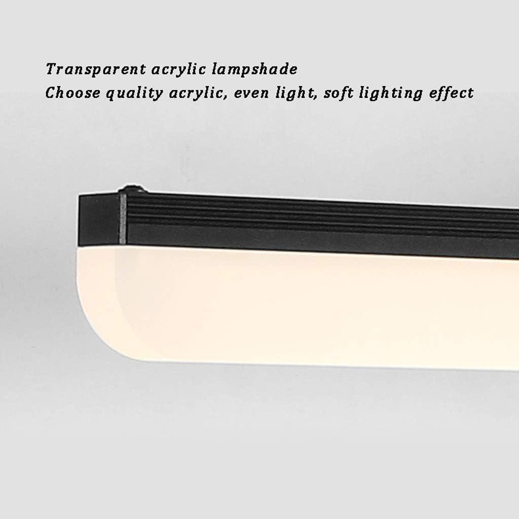 Schminkspiegel Kompakt mit LED-Leuchten Tragbarer Taschenbeleuchteter Kosmetikspiegel für Handtaschen Reisespiegel Blackwarm Light70.5cm