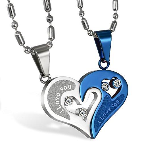 JewelryWe -   Schmuck 2PCS Paare