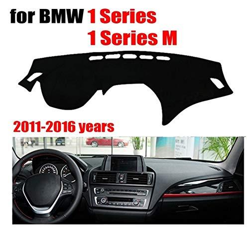 Yunjingchenman Cubiertas salpicadero del coche for BMW Serie 1 / Serie 1 M 2011-2016 Left Hand Drive cubierta del salpicadero del cojín del tablero de instrumentos de la rociada de la cubierta Auto Ac