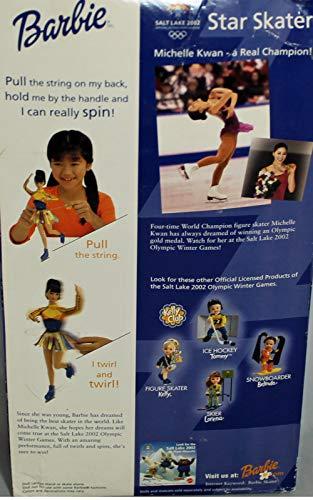 Michelle Kwan Star Skater Barbie