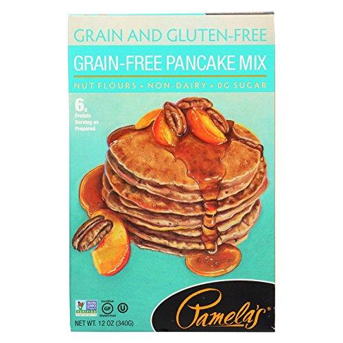 Pamela's Products Pancake Mix,Grain Free 12 Oz (Pack Of 6)