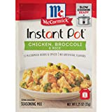 Convenient, family-friendly seasoning mix for the Instant Pot Made with McCormick herbs and spices No artificial flavors Chicken and rice meal on the table in just 10 minutes with pressure cooker Slow cooker friendly, too! Cook for 4 hours on low, tw...