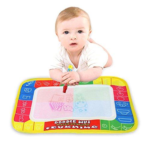 Juguete del bebé, RETUROM Pintura vendedora caliente del agua que dibuja y tablero de la escritura con la pluma mágica 29 x los 19cm