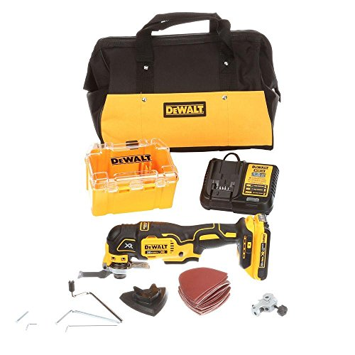 DEWALT DCS355D1R 20V MAX XR 28-Pc Cordless Brushless Oscillating Multi-Tool Kit (Renewed)