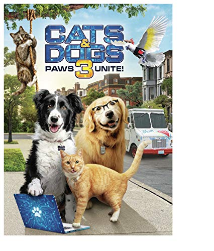 Cats & Dogs 3: Paws Unite! (DVD)