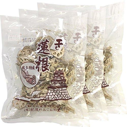 国産100% 干し蓮根 60g×3袋セット 巣鴨のお茶屋さん 山年園