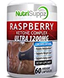 100% Pure Raspberry Ketone Complex Ultra 1200mg, Weight Loss Pills, Thermogenic Effect - G...