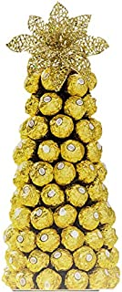 Ferrero Rocher Flower Gift Basket