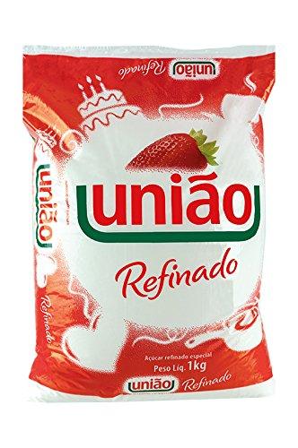 Biały, delikatny brazylijski cukier trzcinowy, 1 kg - Açucar Refinado Especial UNIÃO