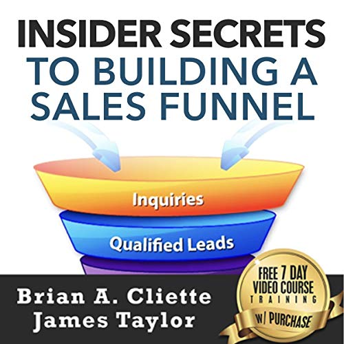 Insider Secrets to Building a Sales Funnel audiobook cover art