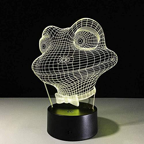 Lampe Illusion 3D Led Veilleuse Le Roi Lion IMBA Jouer Cenes Maison Enfants Lampe de Table pour Chambre USB Acrylique-Télécommande