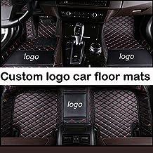 Aoforz-uk Tappetini personalizzati Logo per Jaguar Tutti i modelli Jaguar XF 2008-2017 XE XJ F-Pace F-Type accessori Auto tappetini per Auto