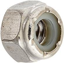 The Hillman Group 829720 1/4 van 20-inch roestvrij staal nylon insert lockmout, 50 stuks van The Hillman Group