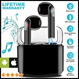 Priish® I7s Sound Wireless Bluetooth Earphone Headset Earbud Portable Headphone Handsfree Sports Running