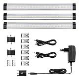 LE Lampes Encastrées 42 LEDs 4W, 3 Packs, Éclairage de Placard Dimmable Blanc Chaud 3000K, Lampe...