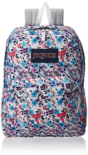 JanSport SuperBreak Backpack - Lightweight School Pack, Petal to The Metal