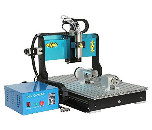 JFT 6040 CNC wood router 4 Axis + 1.5kw Spindle+ USB Port + Mach 3 metal engraving machine / CNC stone Carving Machine