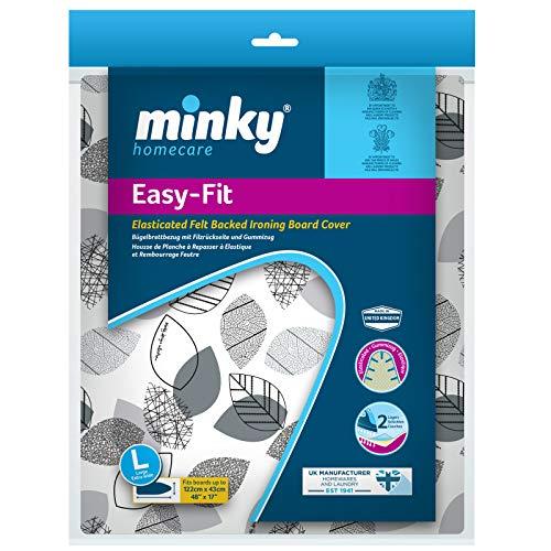 Minky Easy Fit strijkplankovertrek 122 x 43 cm, op kleur gesorteerd