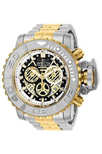 Invicta Men's 58mm Sea Hunter Gen II Swiss Quartz Chronograph Stainless Steel Bracelet Watch