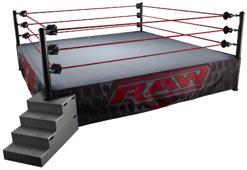 WWE Raw Elite Real Scale Wrestling Ring